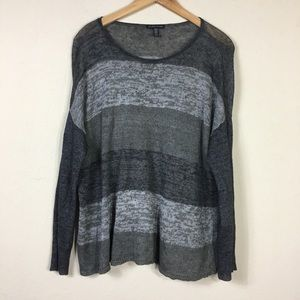 Eileen Fisher Oversized Sweatshirt Top